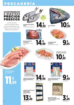 Ofertas de Bacalao  en el folleto de Hipercor en Madrid