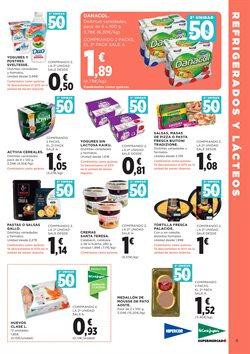 Ofertas de Huevos  en el folleto de Hipercor en Zaragoza