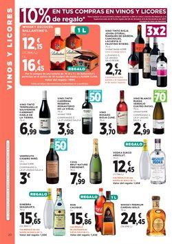 Ofertas de Vino  en el folleto de Hipercor en Valencia