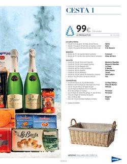Ofertas de Cestas de Navidad  en el folleto de Hipercor en Madrid