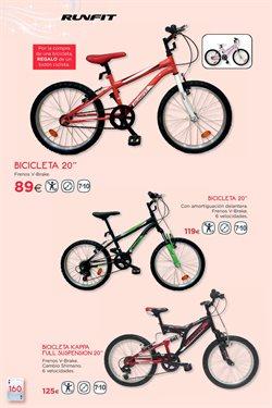 Ofertas de Ciclismo  en el folleto de Hipercor en Camargo