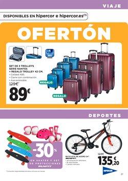 Ofertas de Deportes  en el folleto de Hipercor en Madrid