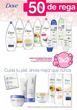 Ofertas de Dove  en el folleto de Hipercor en Castelldefels