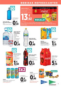 Ofertas de Agua  en el folleto de Hipercor en Las Palmas de Gran Canaria