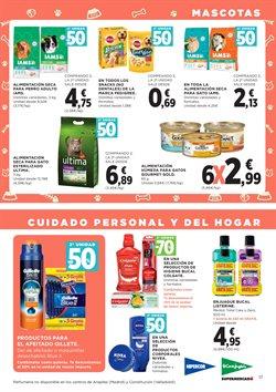 Ofertas de Gillette  en el folleto de Hipercor en Castelldefels