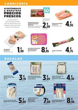 Ofertas de Hamburguesas  en el folleto de Hipercor en San Sebastián de los Reyes