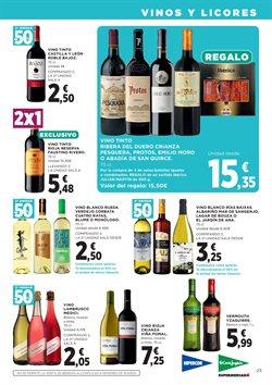 Ofertas de Vino  en el folleto de Hipercor en El Puerto De Santa María