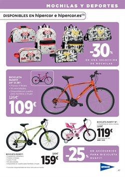 Ofertas de Bicicletas  en el folleto de Hipercor en Madrid
