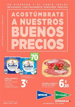 Ofertas de Hipercor  en el folleto de Las Palmas de Gran Canaria