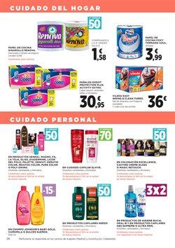 Ofertas de Pañales  en el folleto de Hipercor en Madrid