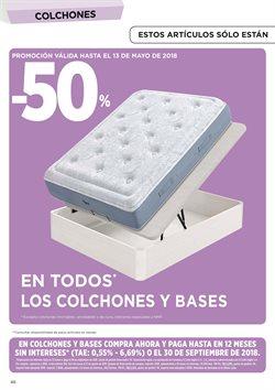 Ofertas de Colchones  en el folleto de Hipercor en Madrid