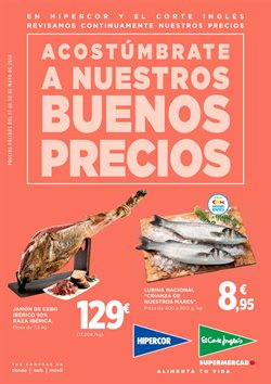 Ofertas de Hiper-Supermercados  en el folleto de Hipercor en San Bartolomé de Tirajana