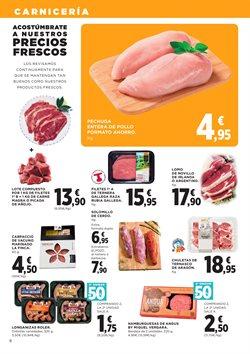 Ofertas de Hamburguesas  en el folleto de Hipercor en Madrid