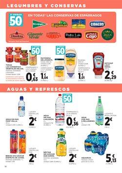 Ofertas de Agua  en el folleto de Hipercor en Madrid