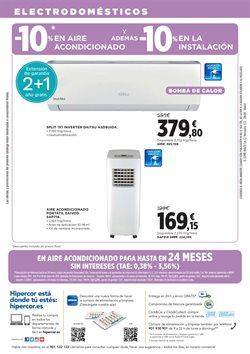 Ofertas de Aire acondicionado  en el folleto de Hipercor en Madrid
