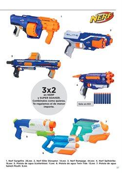 Ofertas de Pistola de juguete  en el folleto de Hipercor en Madrid