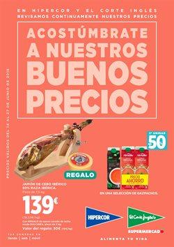Ofertas de Hipercor  en el folleto de Santander