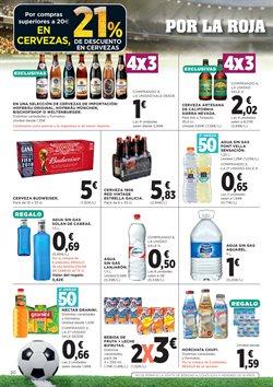 Ofertas de Cerveza  en el folleto de Hipercor en Sanlúcar de Barrameda