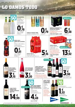 Ofertas de Vino tinto  en el folleto de Hipercor en Barcelona