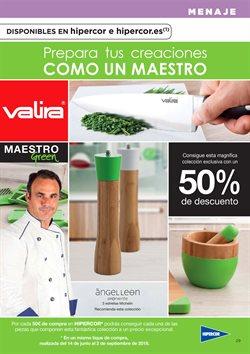 Ofertas de Utensilios de cocina  en el folleto de Hipercor en Murcia