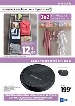 Ofertas de Toallas  en el folleto de Hipercor en Córdoba