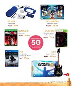 Ofertas de PS4  en el folleto de Hipercor en Madrid