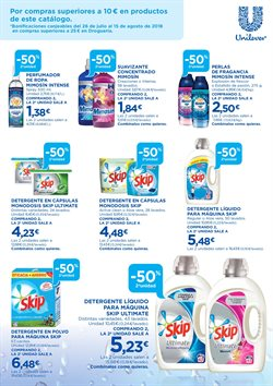 Ofertas de Detergente líquido  en el folleto de Hipercor en Chiclana de la Frontera