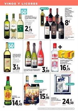 Ofertas de Vino tinto  en el folleto de Hipercor en Madrid