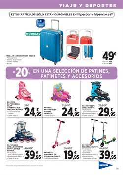 Ofertas de Patinete  en el folleto de Hipercor en Madrid
