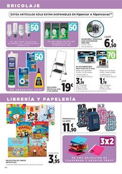 Ofertas de Material de papelería  en el folleto de Hipercor en Madrid