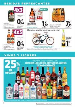 Ofertas de Bebidas alcohólicas  en el folleto de Hipercor en Madrid