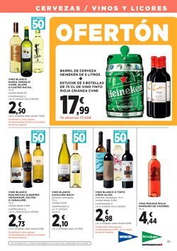 Ofertas de Vino blanco  en el folleto de Hipercor en Madrid