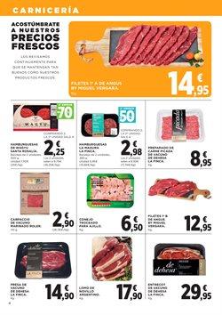 Ofertas de Hamburguesas  en el folleto de Hipercor en Getafe