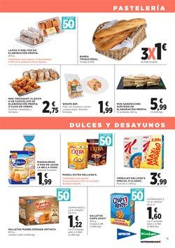 Ofertas de Desayuno, postres y pan  en el folleto de Hipercor en Madrid