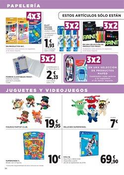 Ofertas de Bolígrafos  en el folleto de Hipercor en Madrid
