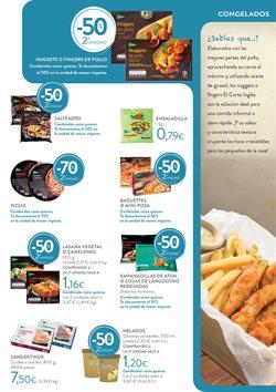 Ofertas de Pizza congelada  en el folleto de Hipercor en Murcia