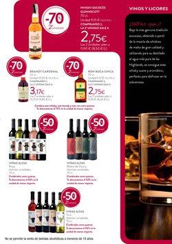 Ofertas de Whisky  en el folleto de Hipercor en Madrid
