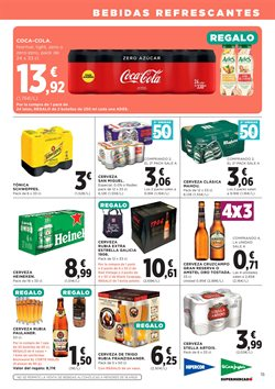 Ofertas de Coca-Cola  en el folleto de Hipercor en Las Palmas de Gran Canaria