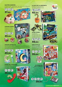 Ofertas de Juegos de mesa infantiles  en el folleto de Hipercor en Madrid