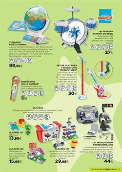 Ofertas de Instrumentos musicales  en el folleto de Hipercor en Madrid