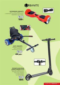 Ofertas de Hoverboard  en el folleto de Hipercor en Madrid