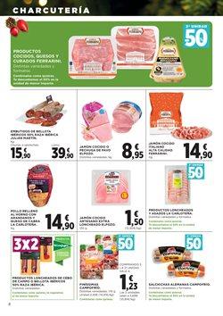 Ofertas de Campofrío  en el folleto de Hipercor en Madrid