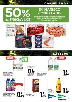 Ofertas de Central Lechera Asturiana  en el folleto de Hipercor en Valencia