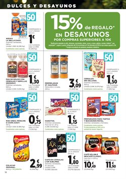 Ofertas de Sobaos  en el folleto de Hipercor en Madrid