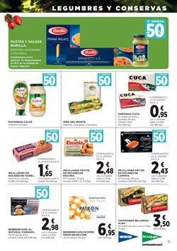 Ofertas de Pasta  en el folleto de Hipercor en Pamplona