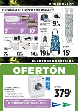 Ofertas de Muebles  en el folleto de Hipercor en Madrid
