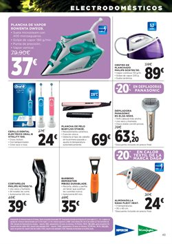 Ofertas de Philips  en el folleto de Hipercor en Madrid