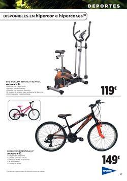 Ofertas de Ciclismo  en el folleto de Hipercor en Valladolid