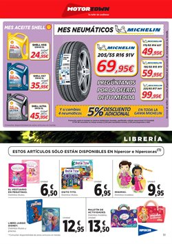 Ofertas de Michelin  en el folleto de Hipercor en Madrid