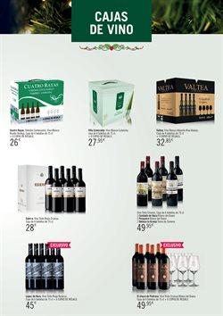 Ofertas de Vino tinto  en el folleto de Hipercor en Murcia